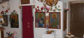 Το προσκύνημα του Αγίου Σπυρίδωνα σε κατακόμβη στο Αρώνι