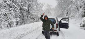 Χιόνισε και στα Χανιά