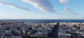 Πανοραμικές όψεις συνοικιών στα Χανιά από ψηλά
