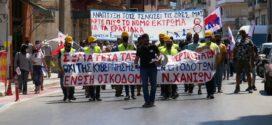 Μεγάλη η συμμετοχή εργαζομένων ενάντια στο νομοσχέδιο για τα εργασιακά