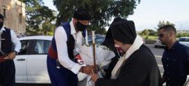 Ο μητροπολίτη Προύσης στην γιορτή της Παναγίας Τριχερούσης στην Ιερά Μονή Αγίας Τριάδος