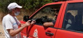 Λαχτάρησαν στο Ξηροκάμπι του Δήμου Πλατανιά Χανίων με την πυρκαγιά