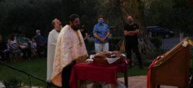 Πανηγυρικός εσπερινός Αγίου Ευτυχίου στα Παλαιά Ρούματα