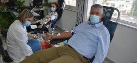 Εθελοντική αιμοδοσία αστυνομικών για τη δική τους Τράπεζα αίματος στα Χανιά