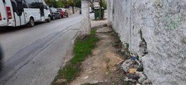 Κεντρική οδός στα Χανιά εγκυμονεί τεράστιους κινδύνους..