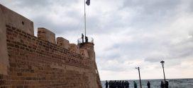 Έπαρση Σημαίας στον Φιρκά Χανίων, δοξολογία, επιμνημόσυνη δέηση και παρέλαση επετείου 28ης Οκτωβρίου 1940