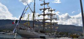 Στο λιμάνι της Σούδας κατέπλευσε το ιστιοφόρο στολίδι του Μεξικανικού Ναυτικού
