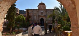 Με λαμπρότητα ο εορτασμός του Αγίου Ιωάννου του Ερημίτου στην Ιερά Μονή Γουβερνέτου